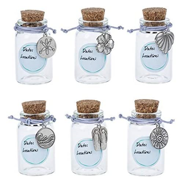 Keepsake Bracelet and Sand Jar (Set of 6)