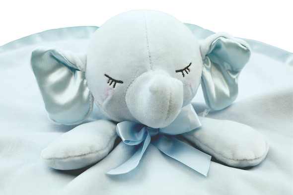 """Ganz Baby Collection Elephant Snuggler Security Blanket, Assorted Colors, 12"""""""