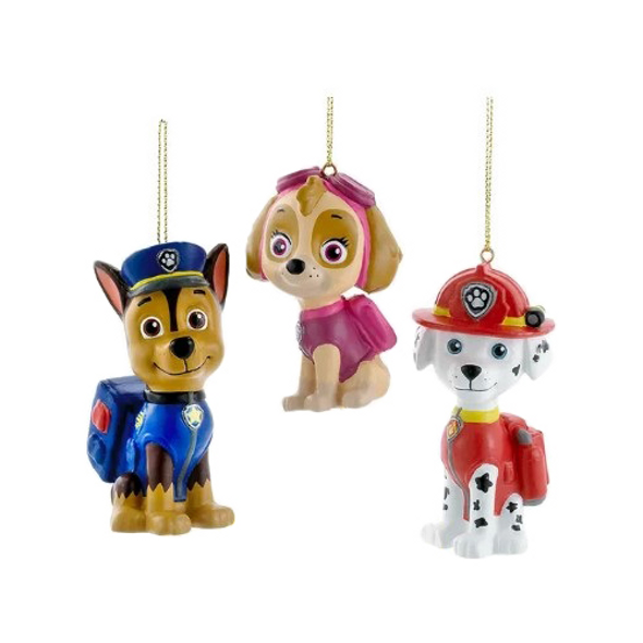Kurt Adler (#ZTSPP1151) Paw Patrol™ Blow Mold Ornaments - 3 Assorted