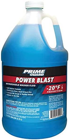 Prime Guard Power Blast - 20 Windshield Washer Fluid, 1 Gallon