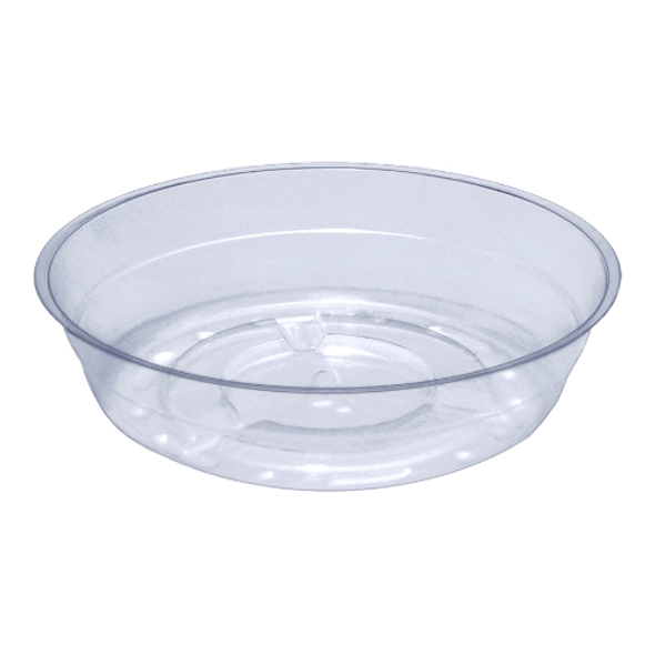 """4"""" Clear Vinyl Saucer (Pack of 1)"""