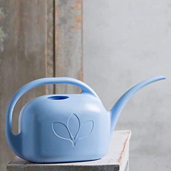 Novelty Indoor Standard Garden Watering Can, 1 Gallon, Sky Blue