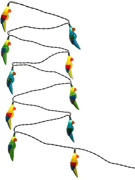 Kurt Adler (#UL0137) 10 UL Parrot Light Set, 11.5 feet long