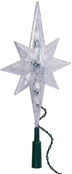 "Kurt Adler (#UL1941C) 10 Light Indoor Bethlehem Star Lighted Treetop, 11.5"""