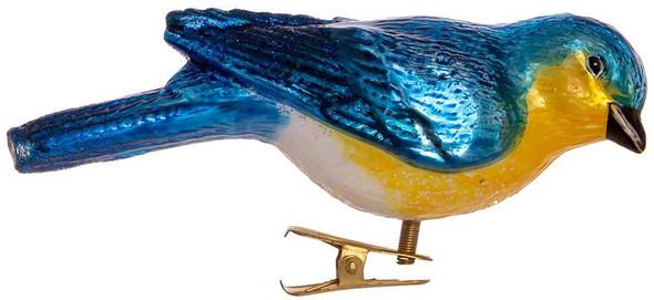 Kurt Adler Noble Gems™ Traditions Glass Bluebird Ornament