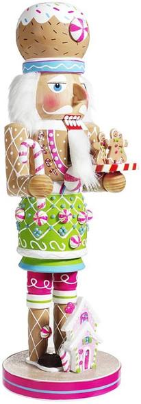 "Kurt Adler (#C5882) Gingerbread Nutcracker, 16"""