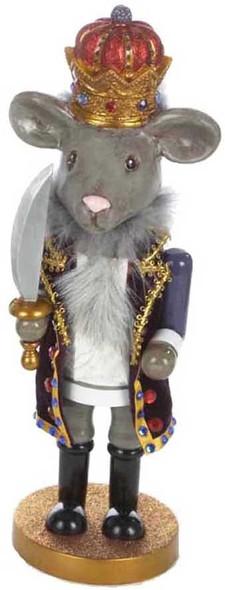 """Kurt Adler (#HA0028M) Hollywood Mouse King Nutcracker, 12"""""""