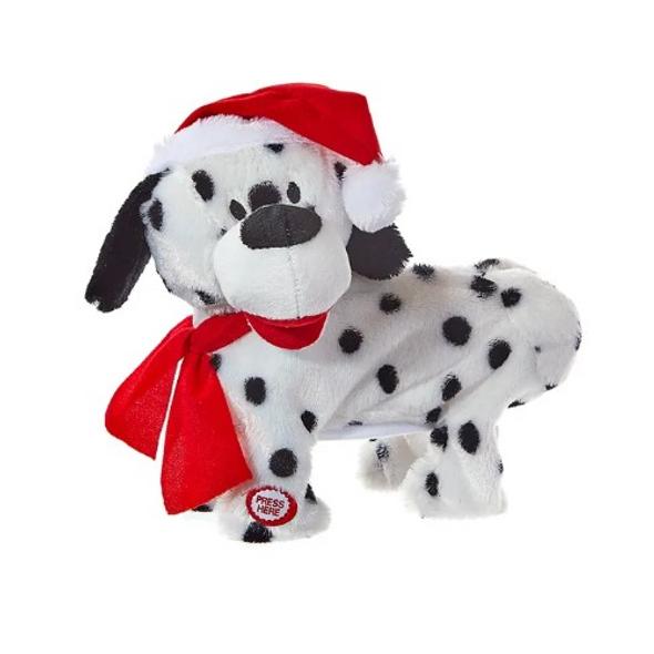 "Kurt Adler Battery-Operated Musical Animated Twerking/Dancing Christmas Dog, 9"""