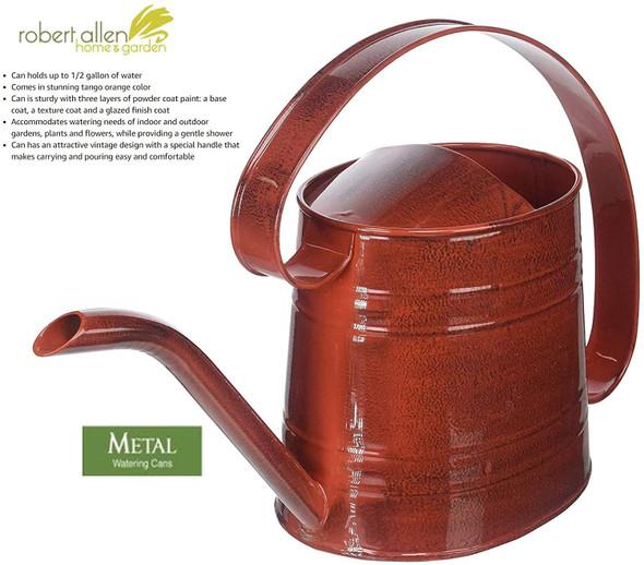 Robert Allen MPT01507 Danbury Watering Can.5 Gallon, Cayenne Red