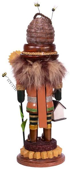Kurt S. Adler Hollywood Bee Keeper Nutcracker, Multi, 15