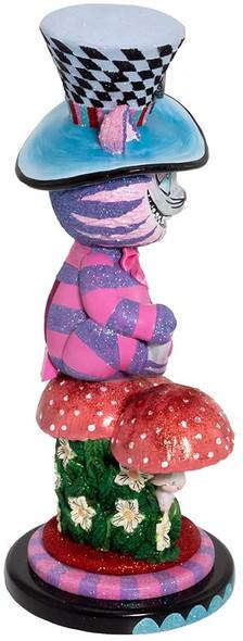 Kurt S. Adler HA0573 Hollywood Cheshire Cat Nutcracker, Multi-Colored, 15