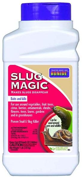 Bonide Chemical Number-1 Slug Magic Control Pellets, 1 lb
