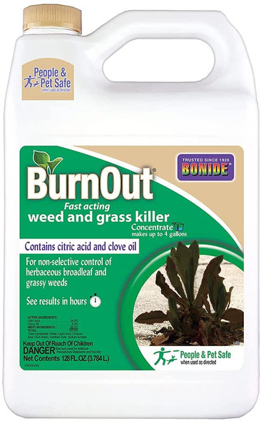 Bonide Products Burnout Weed And Grass Killer Concentrate - 1 Gal.
