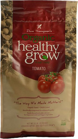 Dave Thompson's Organic Healthy Grow HGR 336 T6 Tomato Fertilizer, 6 lb