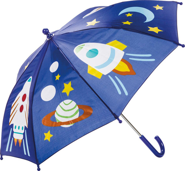 Toysmith Kids Color Changing Space Umbrella, From Blue to Pink