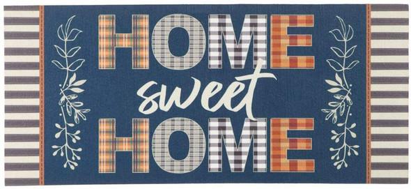 """Evergreen Plaid """"Home Sweet Home"""" Sassafras Switch Door Mat"""