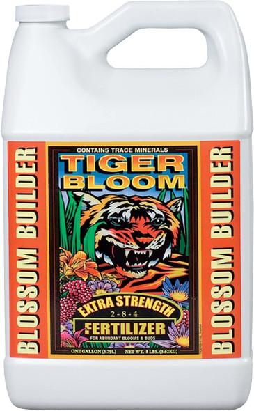 FoxFarm Tiger Bloom Fertilizer 2-8-4, White, 1-Gallon