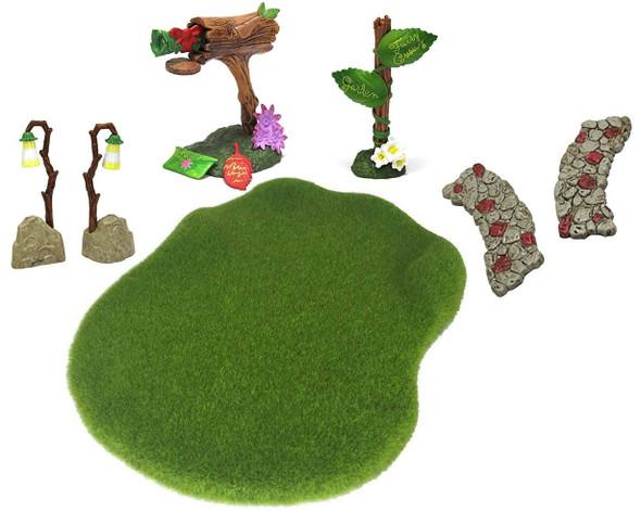 Flower Fairies Garden Secret Landscape Moss & Accessory Kit