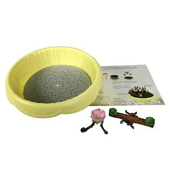Flower Fairies Garden Secret Yellow Planter Kit  & Accessory Kit