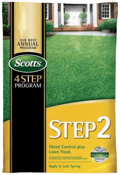 Scotts STEP2 Weed Control Plus Lawn Food 2, 5,000 Sq. Ft. Damaged Bag