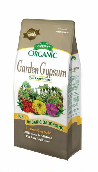 Espoma GG36 Garden Organic Gypsum Soil Conditioner/Fertilizer, 36-Pound