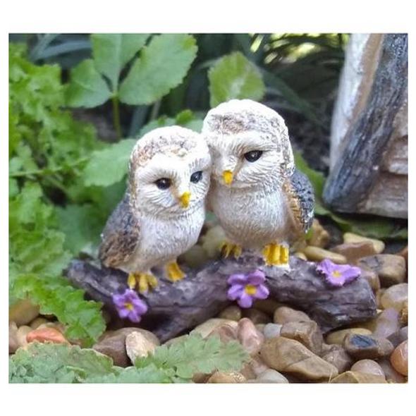 Fairy Garden Cozy Owl Miniature Figurine