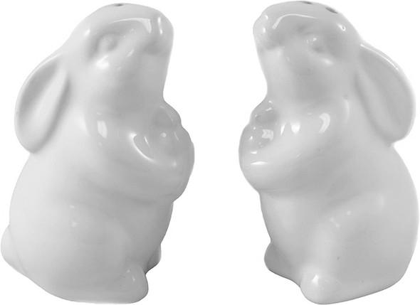 Easter Rabbit Salt & Pepper Shaker Set Table Decor
