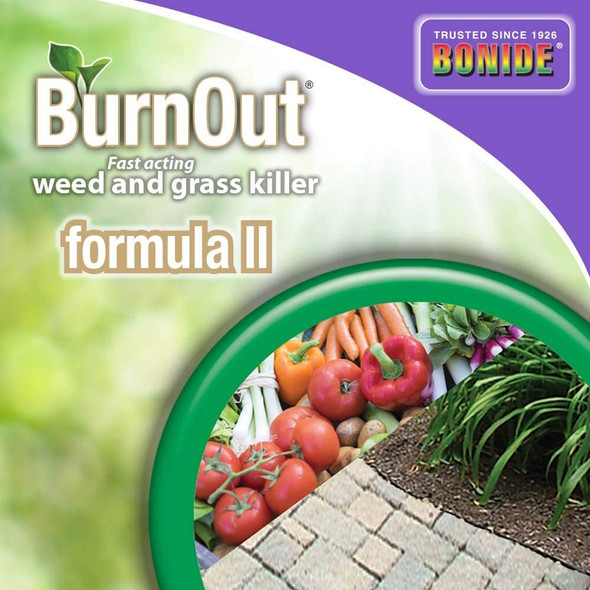 BONIDE (#7468) BurnOut Weed & Grass Killer, Concentrate, 32oz