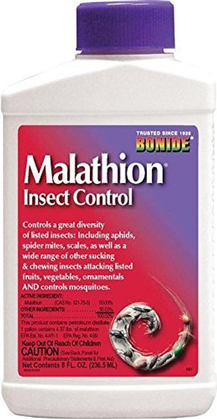 Bonide Chemical Malathion 50E Concentrate Insecticide, 8-Ounce