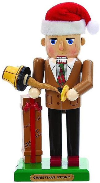 "Kurt Adler (#C6161L) A Christmas Story Mr. Parker w/ Leg Lamp Nutcracker, 11"""