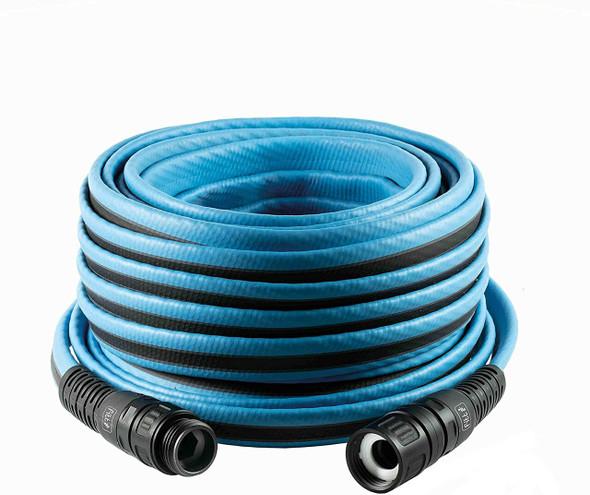"""FITT Force Tek Garden Hose, Medium duty Water Hose, Light Blue, 5/8"""" 50ft"""
