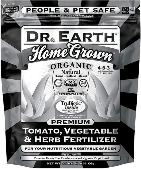 Home Grown Premium Tomato, Vegetable & Herb Fertilizer 4-6-3 (4 lb.)