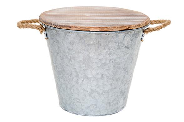 Patio Essentials Citronella Bucket Candle, Galvanized - 80oz
