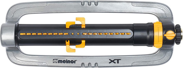 Melnor XT4200M Metal Turbo Oscillating Sprinkler w/ Flow Control - 4,500 sqft