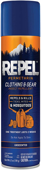 Repel 94127 Permethrin Clothing and Gear Insect Repellant, 6.5 oz
