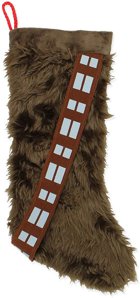 "Kurt Adler Star Wars Chewy Stocking Standard, 17"""