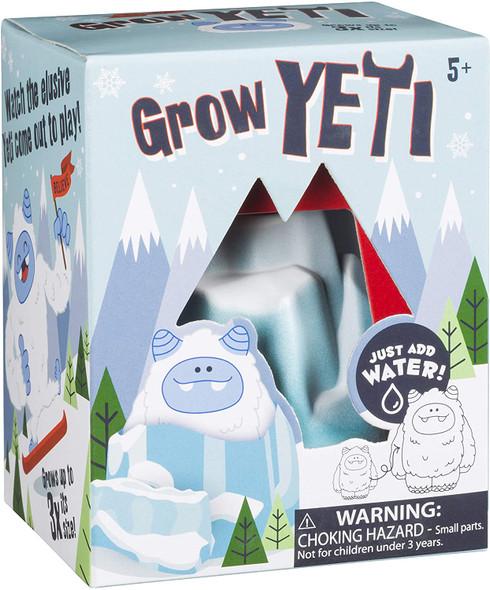 Toysmith Hatchin' Grow Yeti, Just Add Water, Fun DIY Kit, 6913