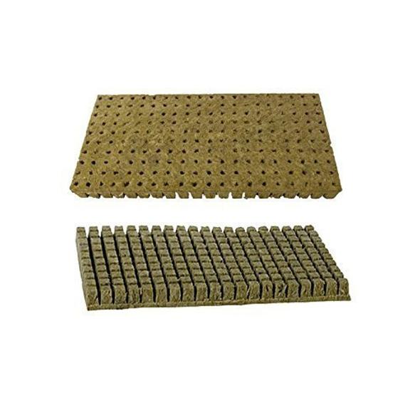 Grodan Rockwool Cubes (1 inch) 200 Cubes Per Sheet, Case of 30 Sheets