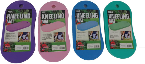 Bosmere Foam Kneeling Protective Mat For Gardening and Household Chores, Assorted (4 Pack)