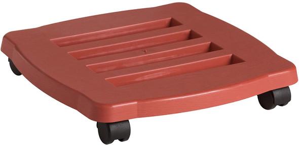 "Bloem Square Planter Caddy, Terracotta Color, 15"""