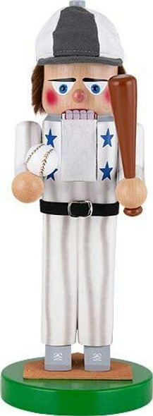 "Kurt Adler Baseball Star Limited Edition Nutcracker, 15.7"""