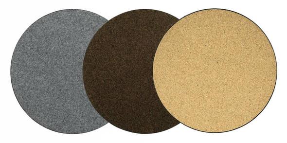 "Curtis Wagner Plastics (#MC-800A) Plant Mat/Saucer, 8"" Assorted Colors (3 Pack)"