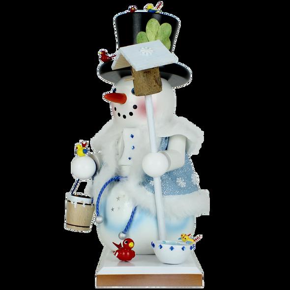 """Steinbach (SN20BN2035L) Limited Edition Birdy Snowman Nutcracker, 12"""""""