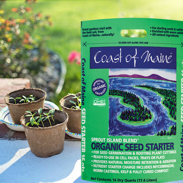 Coast of Maine Sprout Island, Organic Seed Starter, 2 cu ft