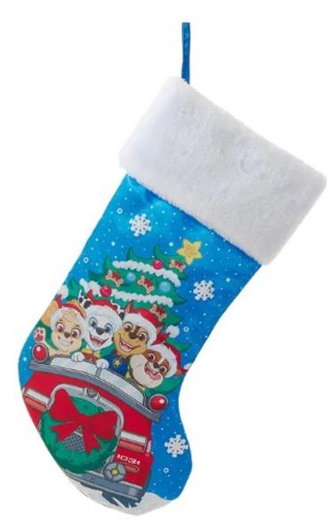 "Kurt Adler Paw Patrol Print Christmas Stocking, 19"""