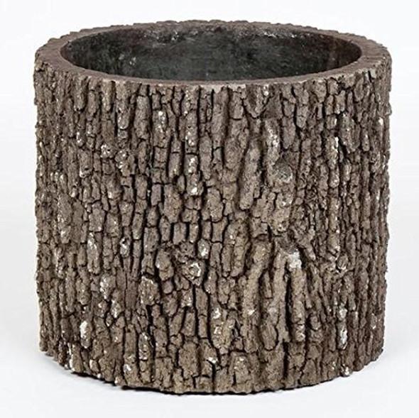 Surreal Faux Wood Oak Vertical Planter/Flower Pot, Size Small
