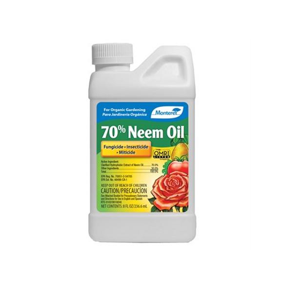 Monterey LG6128 70% Neem Oil Concentrate, 8oz