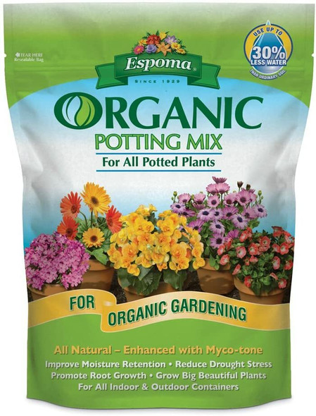 Espoma AP2 Organic Potting Mix, 2 Cubic Feet