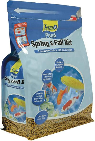 TetraPond Spring & Fall Diet Floating Pond Sticks Fish Food, 1.72-Pound