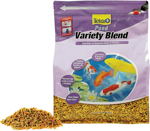 TetraPond Variety Blend Fish Food, 1.32 Pounds